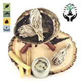 SPIRITUAL CLEANSING: Use our sage smudging kit to perform a spiritual cleanse when moving into a new home, room or office. Use kit to create positive energy if you find yourself in a tense or negative mood, or for meditation, spiritual awareness or a...