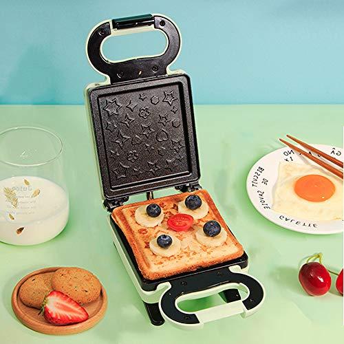 Vleesmolen, multifunctioneel tosti-apparaat met antiaanbaklaag, mini-broodrooster, met temperatuurcontrolelampje voor toast