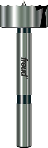 discount Freud outlet online sale Precision Shear Serrated Edge Forstner Drill Bit 1-1/4-Inch online sale by 3/8-Inch Shank (PB-009) online