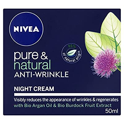 Nivea Pure and Natural Anti-Wrinkle Night Cream, 50 ml by Beivz