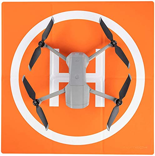 PGYTECH Drone Landing Pad, Universal Waterproof Pads portátiles de Aterrizaje Plegables para Drones Helicopter, PVB Drones, dji Mavic Mini 2/Mavic Air 2/ Mavic 2