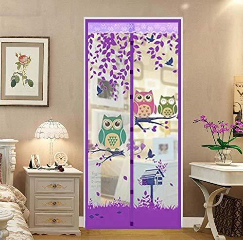 Imanes domésticos de verano mosquiteros anti mosquiteros mosquiteros antimosquitos de verano cortina magnética pantalla suave puerta pantalla puerta A5 W100xH210