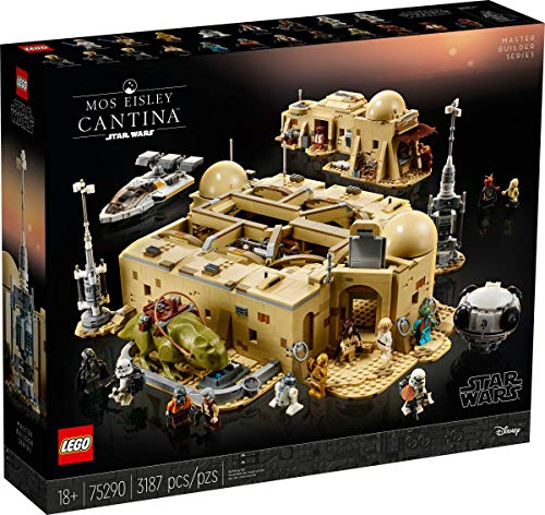 LEGO Star Wars Mos Eisley Cantina 75290 Master Builder Series Set