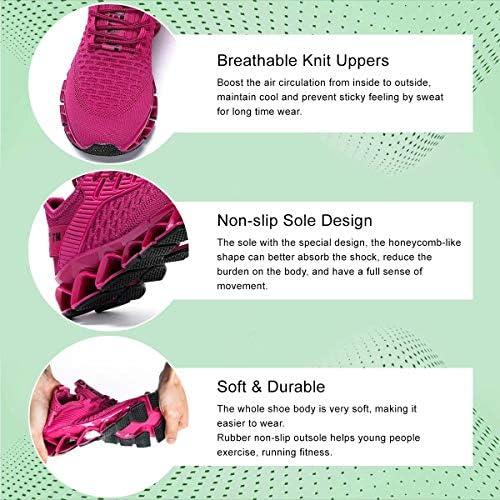Kapsen Women's Fashion Sneakers Running Shoes Non Slip Tennis Shoes Athletic Walking Blade Gym Sports Shoes