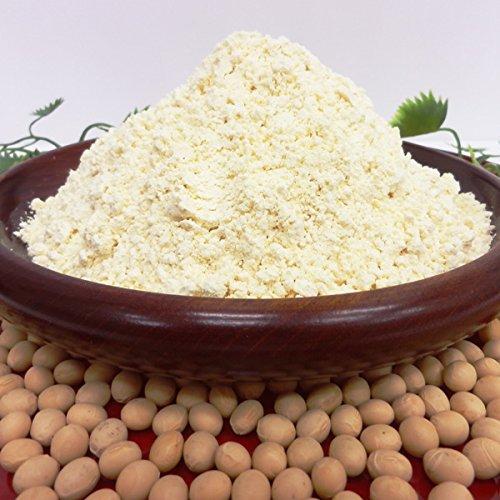 すずさやかの大豆粉(グルテンフリー) 1kg×3個 八ヶ岳南麓産 青臭くない大豆「すずさやか」を使用した大豆粉 ホームベーカリーやスイーツレシピに 生大豆なので加熱が必要です