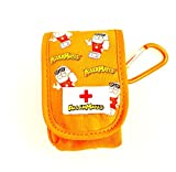 AllerMates - Small Medicine Case for Inhalers or Single AuviQ: Orange