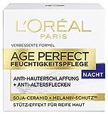 L'Oréal Paris Dermo Expertise Age Perfect mit Soja Substanz-Stärkende Nachtcreme, 50 ml