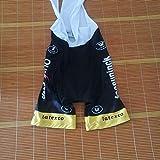 Ciclo De Honor De Un Ciclo Jersey Líder Ganador del Tour De Francia Maillot Transpirable Ropa De La Bici MTB Ropa Ciclismo Zzzb (Color : Quick Step Bib Short, Size : XL)