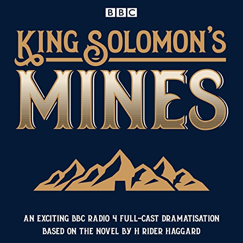 King Solomon's Mines audiobook cover art