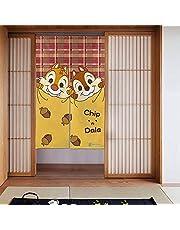チップデール のれん 玄関 キッチン ロング カーテン 間仕切り 断熱 おしゃれ かわいい 目隠し 暖簾 リビング 階段 キャラクター MORYDOVS