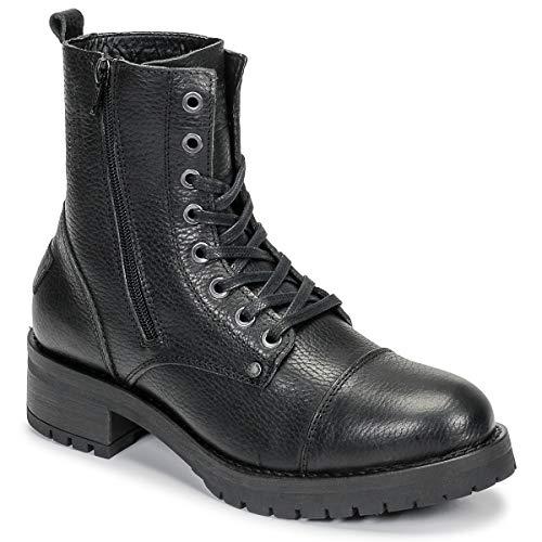 BULLBOXER 579M86551BMBLK Enkellaarzen/Low boots dames Zwart Laarzen