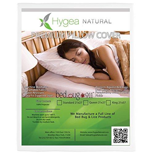 Bed Bug Waterproof Premium Zippered Pillow...