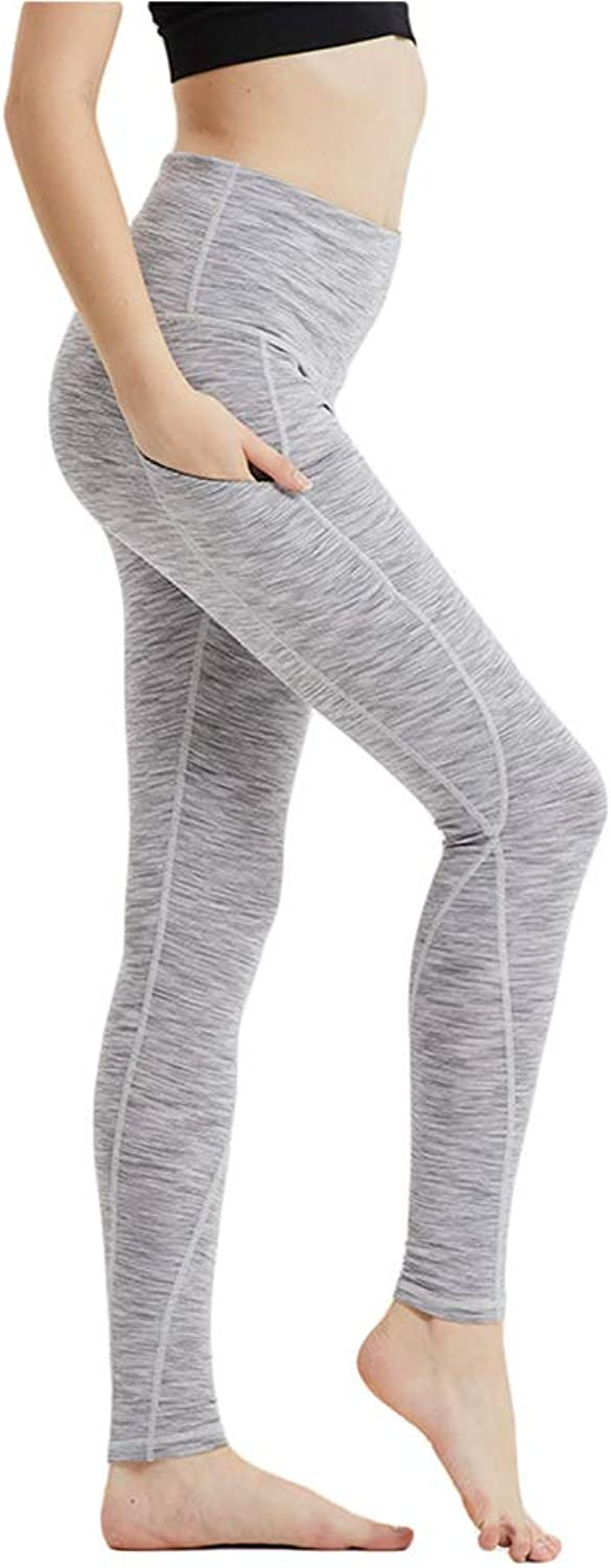 Womens Yoga Pants,Athletic Workout Running Leggings Tights with Shapewear for Women,c,M