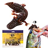 KSBASSLURE 8/10Pcs Funny and Special Fishing Lure, Best Lifelike Soft Lure, Bass Lure, Free Land Rig.Freshwater and Saltwater Fishing Stuff Trout Bait,1:1 Paste from Animals Fishing Gifts for Men