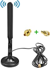 CHHLIUT GSM 3G 4G LTE Antenna SMA Male/TS9 Connector Magnetic Base with Extension Cable 9.8Ft 50ohm