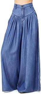 Runyue Women Casual Trousers Yoga Gym Sport Lounge Harem Palazzo Loose Wide Leg High Waist Pants Plus Size