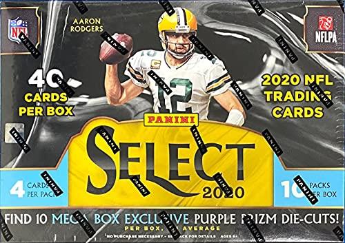 2020 Panini Select NFL Football MEGA box (10 pks/bx)