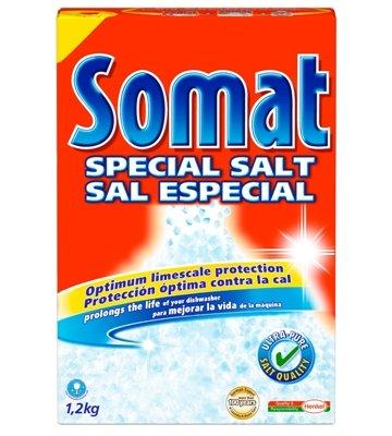 Miele : Somat Dishwasher Salt (B1640) - Case of 8