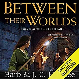 Between Their Worlds audiobook cover art
