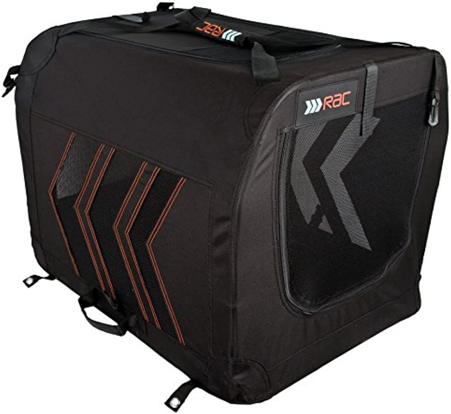 Rac Black Car Pet Carrier  Small 51x33x31cm