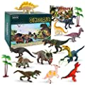 BeebeeRun Dinosaur Toys 15 Pcs,Large Dinosaur Toys age 3 4 5 6 7 Educational Dinosaur Figures Model Toys for Kids Boy Girls Toddlers from BeebeeRun