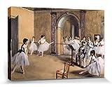 1art1 Edgar Degas - Ballettsaal Der Oper In Der Rue
