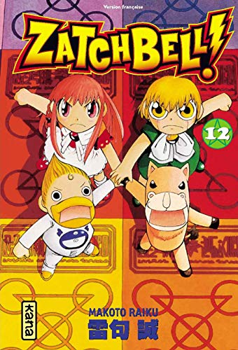 Zatchbell !, Tome 12 :