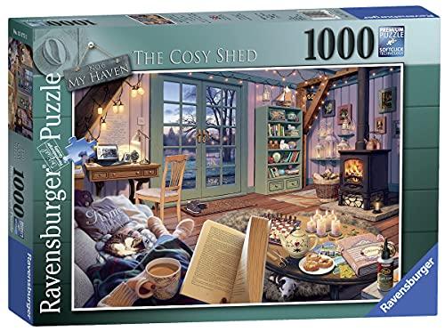 Ravensburger-15175 Mi Haven no 6. The Cosy Shed-Puzzle de 1000 Piezas para Adultos y niños a Partir de 12 años, Multicolor (15175)