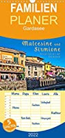 Malcesine und Sirmione, Schoenheiten am Gardasee - Familienplaner hoch (Wandkalender 2022 , 21 cm x 45 cm, hoch): Eine Reise in die wunderschoenen Orte Sirmione und Malcesine am Lago di Garda. (Monatskalender, 14 Seiten )
