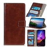 Ebogor pour Huawei Honor 20 Lite Portefeuille, Texture de Cheval Crazy rétro, étui de Protection...