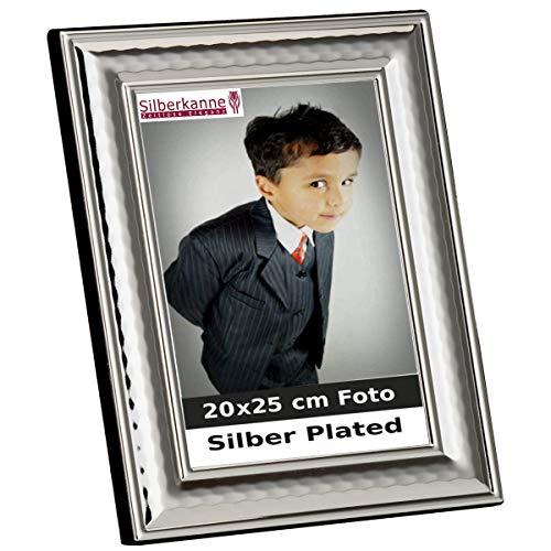 silberkanne Bilderrahmen Mailand für 20x25 cm Foto Silber Plated versilbert in Premium Verarbeitung