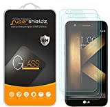 (3 Pack) Supershieldz for LG (K20 Plus) Tempered Glass Screen Protector, 0.33mm, Anti Scratch, Bubble Free