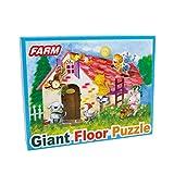 small foot company - Vita Rurale Puzzle Gigante, 62 x 92 cm
