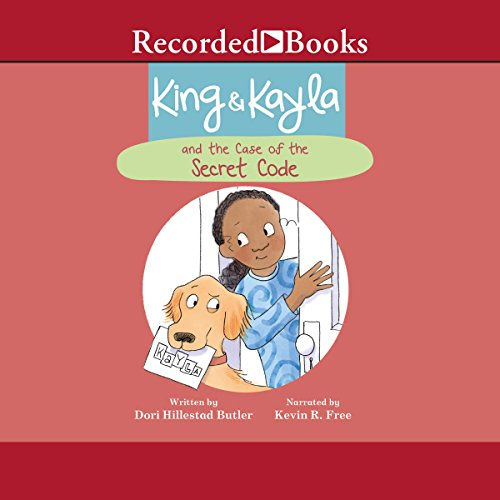 Couverture de King & Kayla and the Case of the Secret Code