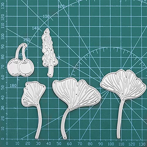 NCQ Super beauty product restock quality top DiyArts Now on sale Ginkgo Leaves Scrapbooking Blade Cut Stenc Punch die
