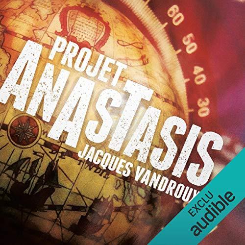 Projet Anastasis audiobook cover art