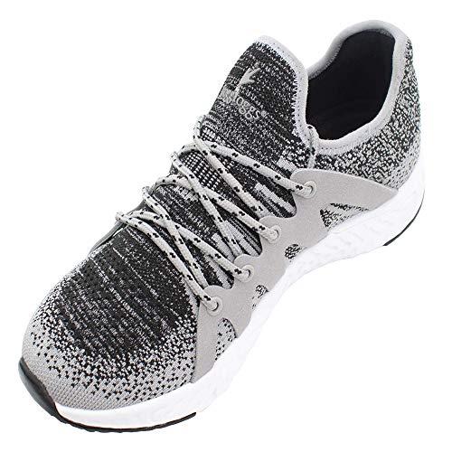 FROGG TOGGS Men's High & Dry Waterproof Breathable Lightweight Sport Fishing Shoe, Light Gray/Black, 12 (4HD111)