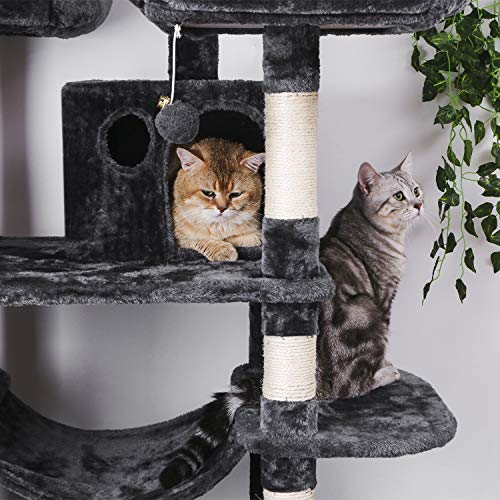 BEWISHOME Large Cat Tree Condo