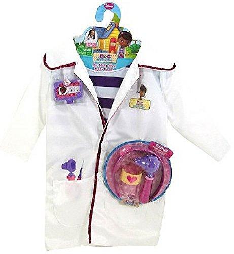 Disney Doc McStuffins Doctors Coat Costume Set with Shirt and Bonus Accessories