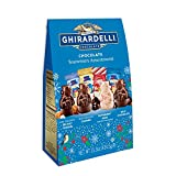 Ghirardelli Premium Chocolate Snowmen Assortment, Holiday Candy Christmas Gift, Snowman Assortment, 15.3 Oz