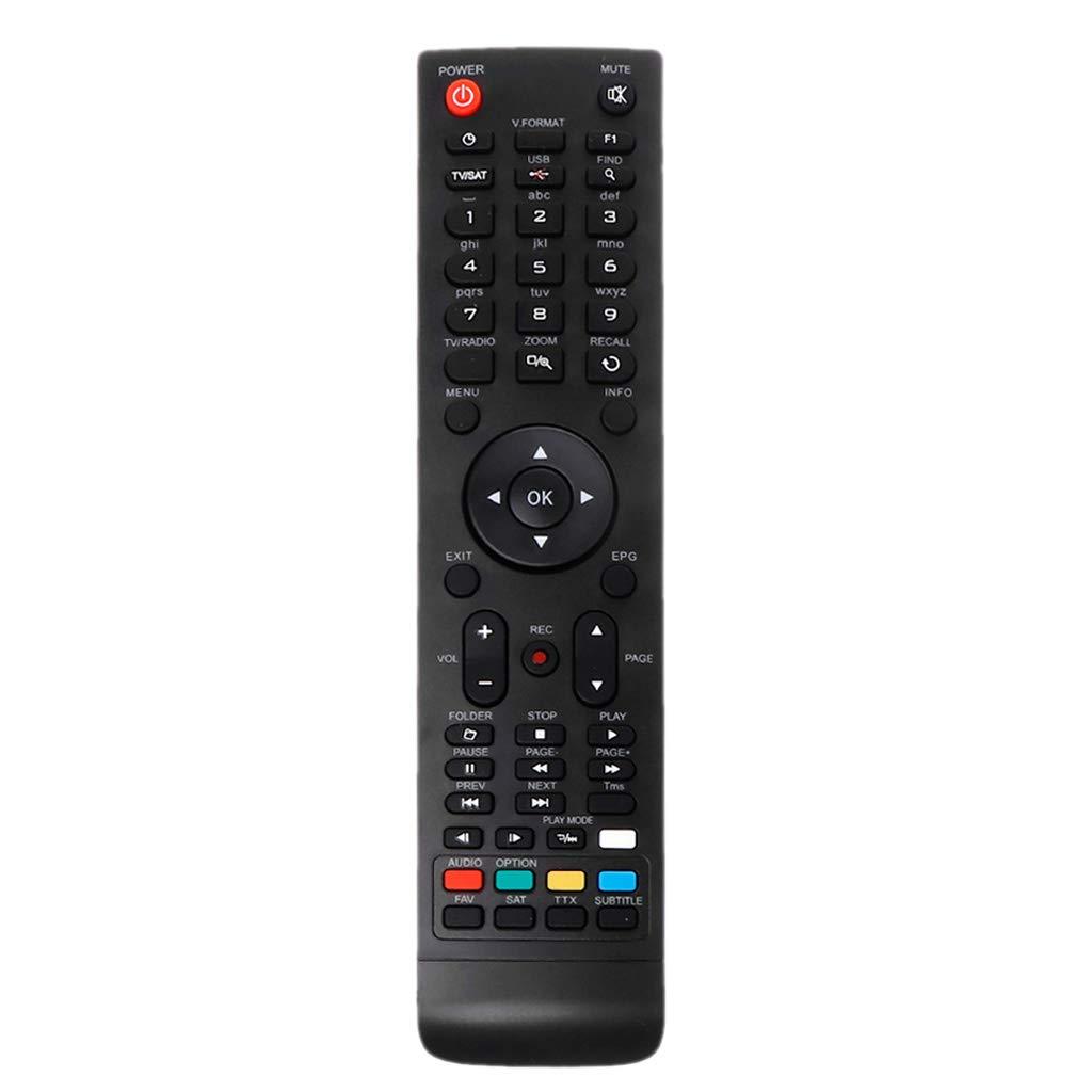 BASSK Reemplazo del Controlador de Control Remoto para la Caja de TV Serie Amiko Micro Mini HD SHD: Amazon.es: Electrónica
