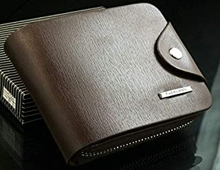 محفظة رجالية (لون بني ، FUERDANNI)