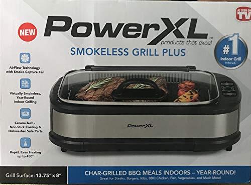 Power XL Smokeless Grill Plus