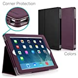 CaseCrown Bold Standby Pro Case (Purple) for iPad 4th Generation with Retina Display, iPad 3 & iPad 2 with Sleep/Wake, Hand Grip, Corner Protection, Multi-Angle Viewing Stand