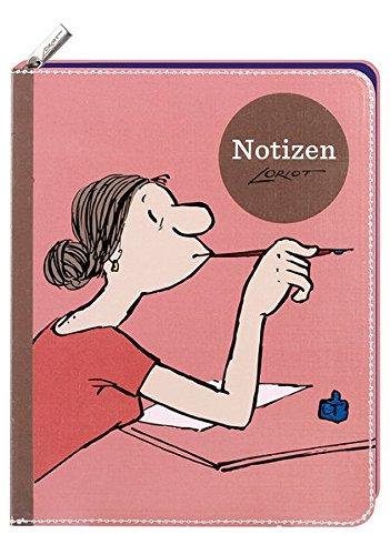 Loriot - Notizbuch Frauen: notizbuch;notizen;to ... ;beschriften;karikatur;reinschreiben;tagebuch