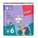 Bella Baby Happy pañales tamaño 6Junior Extra (16+ kg) 108Pañales (6x...