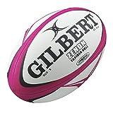 Gilbert Zenon Trainer Ball - Pink/Black Size 5