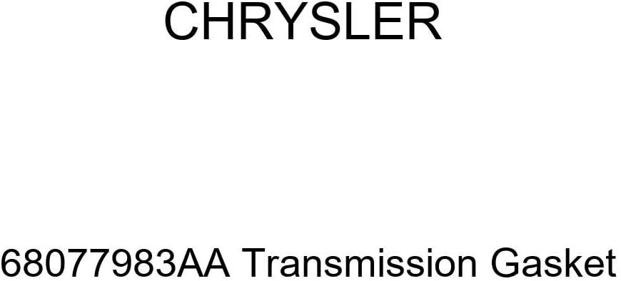 Genuine Chrysler Under blast sales 68077983AA Gasket Bombing free shipping Transmission