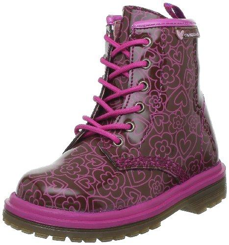 Agatha Ruiz de la Prada 121959 121959 - Zapatos para bebé de cuero para niña, color rosa, talla 30