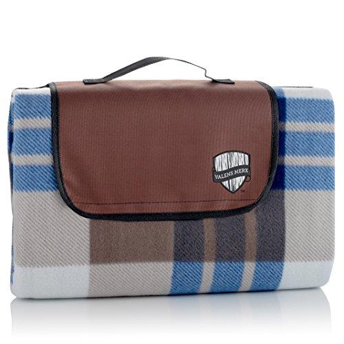 Valens Merx Cozy Plaid Outdoor Picnic Blanket